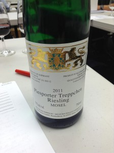 2011 Export Union GmbH Piesporter Treppchen Riesling