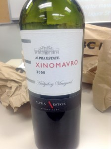 "2008 Alpha Estate ""Hedgehog Vineyard"" Xinomavro"
