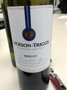 "Jackson Triggs ""Proprietor's Selection"" Merlot"
