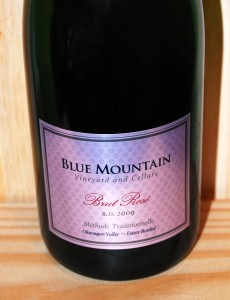2009 Blue Mountain Brut Rosé