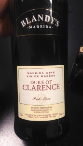 "Blandy's ""Duke of Clarence"" Rich Madeira"