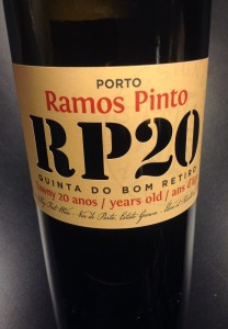 "Ramos Pinto ""RP20"" Quinta do Bom Retiro 20 Year Old Tawny Port"