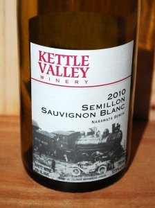 2010 Kettle Valley Semillon Sauvignon Blanc