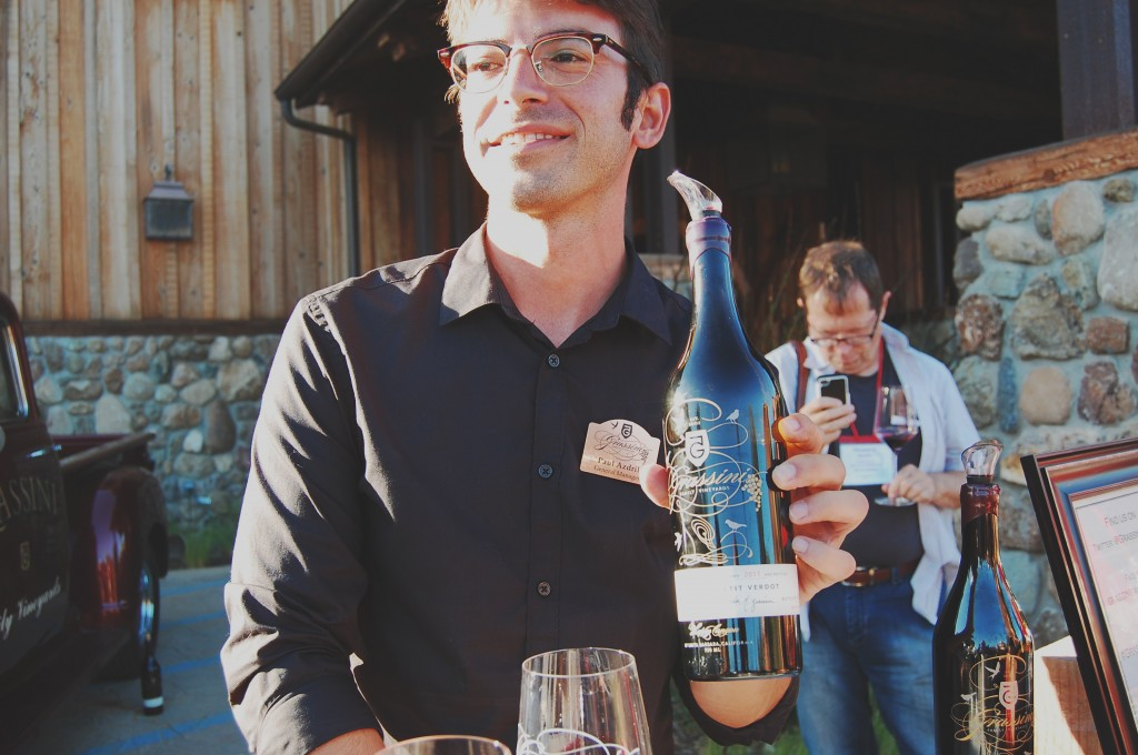 Paul Azdril of Grassini Family Vineyards