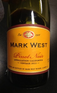 Mark West 2012 Pinot Noir
