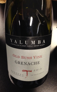 Yalumba 2013 Old Bush Vine Grenache