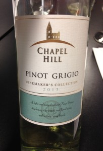 "Chapel Hill 2013 ""Winemaker's Collection"" Pinot Grigio"