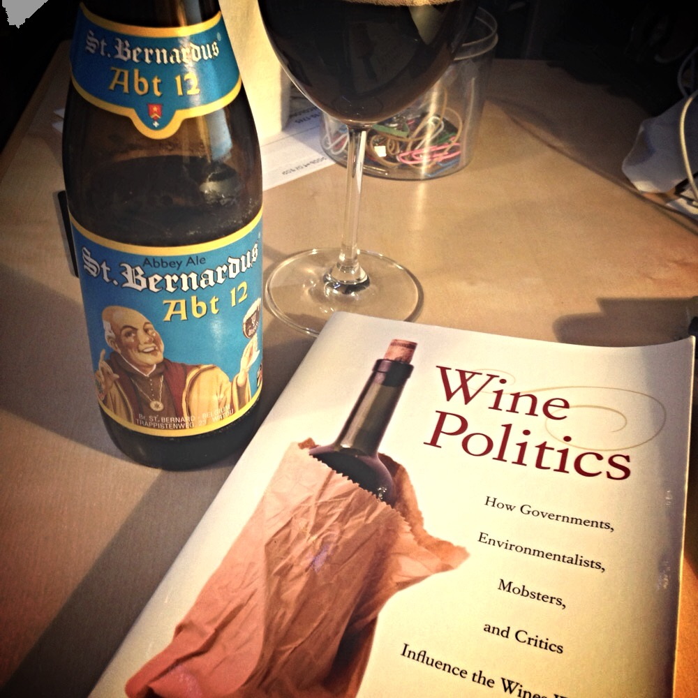 Beer that's delicious; wine that's auspicious #drunkreading