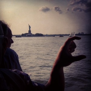 Yeah the Statue of Liberty but omg this specific piece of water though